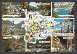 91233/ ANDORRE, Valls D'Andorra - Cartes Géographiques