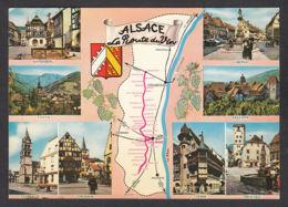 91250/ FRANCE, Route Du Vin, Alsace - Cartes Géographiques