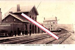GRAND-HALLEUX - La Station - Superbe Photocarte - Vielsalm