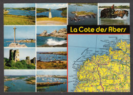 91273/ FRANCE, La Côte Des Abers - Cartes Géographiques