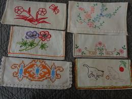 Lot De  91 Porte Serviettes  Vintage..poussin-fleur-chat-poule-chat-alsacienne-lapin-oie-papillon Etc... - Habits & Linge D'époque