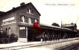Vallée De La Meuse - HEER-AGIMONT - La Gare - Quai Animé - Hastière