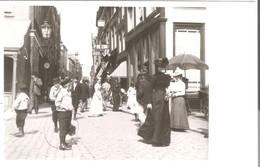 Dordrecht - Voorstraat, Hoek Visbrug -  1902  (AK3279) - Dordrecht