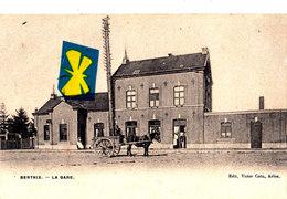 BERTRIX - La Gare - Belle Carte - Bertrix