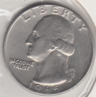 @Y@   United States Of America  Quarter Dollar   1965     (3024 ) - Émissions Fédérales
