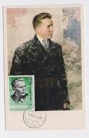 CARTE MAXIMUM CM Card USSR RUSSIA Scout Partisan Kuznetsov 2nd WW - Maximum Cards
