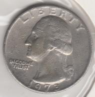 @Y@   United States Of America  Quarter Dollar   1973     (3028 ) - Émissions Fédérales