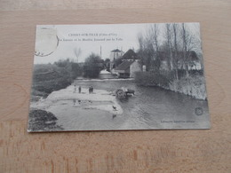 Cessey-sur-Tille  -  Le Lavoir Et Le Moulin Jeannel Sur La Tille - Autres Communes
