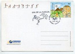 SCOUT SCOUTING SCOUTISMO XII JAMBOREE SCOUT PANAMERICANO DIA DE LA PUREZA 2005 ARGENTINA TARJETA CARD SPC - LILHU - Scoutisme