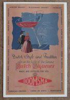 (K126d) - Carte Pub - Leeuwarden - J.Boomsma Dzn - Distilleerderij Der 1e Klasse - Leeuwarden