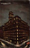 New York Rochester Powers Block At Night 1912 - Rochester
