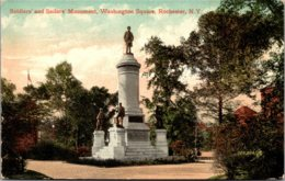 New York Rochester Washington Square Soldiers And Sailors Monument 1910 - Rochester