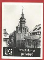 """ALLEMAGNE ""  Nikolaikirche Zu Leipzig HCS-Drucke -Voir 4 Photos - Biographies & Mémoires"