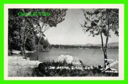LAC BROME, QUÉBEC - VIEW OF BROME LAKE - PHOTO, LÉGARÉ, WATERLOO - CARTE VRAI-PHOTO - - Quebec