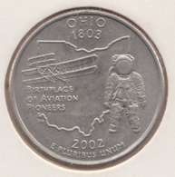 @Y@   United States Of America  Quarter Dollar   2002    (3037 ) - Émissions Fédérales