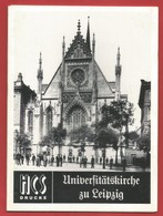 """""""ALLEMAGNE """"  Universitätskirche Zu Leipzig HCS-Drucke -Voir 4 Photos - Biographies & Mémoires"""