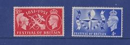 CENTENARY OF UNIVERSAL EXPOSITION LONDON 1851 FESTIVAL OF BRITAIN - ENGLAND UK GB 1951 MNH - 1851 – London (United Kingdom)