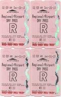 Denver USA : Train RTD Régional - Aéroport : Day Pass $9.00 (€0,75 Per Ticket) - World