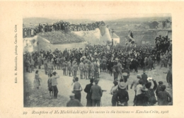CRETE 1906 RECEPTION KANDIA MICHELIDAKI AFTER HIS SUCCES IN THE ELECTIONS - Grecia