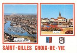 85 Saint Gilles Croix De Vie Divers Aspects (2 Scans) - Saint Gilles Croix De Vie