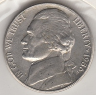 @Y@   United States Of America  5 Cents  1980    (3042 ) - Émissions Fédérales