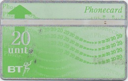 Télécarte British Telecom : 20 Units - Royaume-Uni