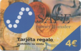 Espagne : Safe Money Transfer 4€ - Stamps & Coins