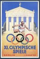Allemagne - XI Olympische Spiele - Berlin 1936 - Olympische Spiele