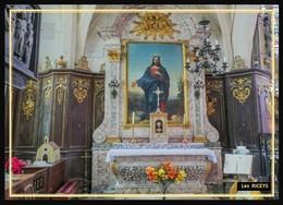 10  Les  RICEYS   ...l Eglise Saint Pierre Autel... Serie Limitee - Les Riceys