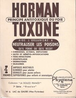 HORMAN TOXONE -collection La Douce France -lac De Gaube -pharmacie -pharmacopée - Advertising