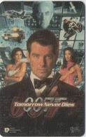 Télécarte Thaïlandaise : 007 James Bond : Tomorrow Never Dies - Cinéma
