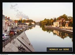 10  ROMILLY  Sur  SEINE   .. ..  La Seine Du Pont St Edme - Romilly-sur-Seine