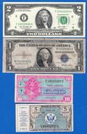 Usa  4  Billets - Small Size (1928-...)