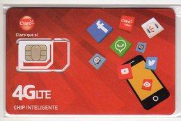 COSTA RICA CARTE GSM CLARO VERSO NUMEROTEE - Costa Rica