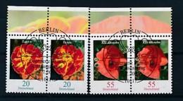 GERMANY Mi.Nr. 2471-2472 Freimarken: Blumen - Paar - ESST Berlin - Used - BRD