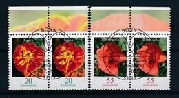 GERMANY Mi.Nr. 2471-2472 Freimarken: Blumen - Paar - ESST Bonn - Used - BRD