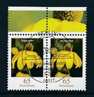 GERMANY Mi.Nr. 2524 Freimarken: Blumen - Paar - ESST Berlin - Used - BRD