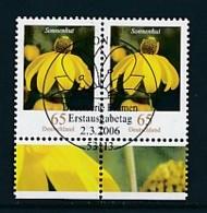 GERMANY Mi.Nr. 2524 Freimarken: Blumen - Paar - ESST Bonn - Used - BRD