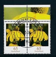 GERMANY Mi.Nr. 2524 Freimarken: Blumen - Paar - ET Weiden - Used - BRD
