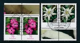 GERMANY Mi.Nr. 2529-2530 Freimarken: Blumen - Paar - ESST Bonn - Used - BRD