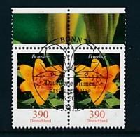 GERMANY Mi.Nr. 2534 Freimarken: Blumen - Paar - ESST Bonn - Used - BRD