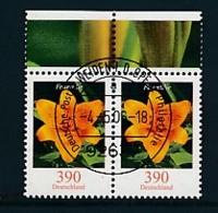 GERMANY Mi.Nr. 2534 Freimarken: Blumen - Paar - ET Weiden - Used - BRD