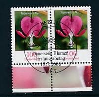 GERMANY Mi.Nr. 2547 Freimarken: Blumen - Paar - ESST Berlin - Used - BRD
