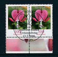 GERMANY Mi.Nr. 2547 Freimarken: Blumen - Paar - ESST Bonn - Used - BRD