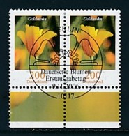 GERMANY Mi.Nr. 2568 Freimarken: Blumen - Paar - ESST Berlin - Used - BRD