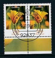 GERMANY Mi.Nr. 2568 Freimarken: Blumen - Paar - ET Weiden - Used - BRD