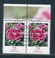 GERMANY Mi.Nr. 2694 Freimarken: Blumen - Paar - ESST Berlin - Used - BRD