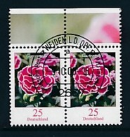 GERMANY Mi.Nr. 2694 Freimarken: Blumen - Paar - ET Weiden - Used - BRD
