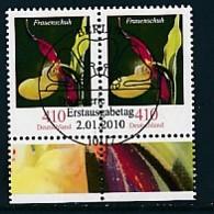 GERMANY Mi.Nr. 2768 Freimarken: Blumen - Paar - ESST Berlin - Used - BRD
