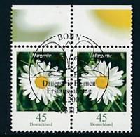 GERMANY Mi.Nr. 2794 Freimarken: Blumen - Paar - ESST Bonn - Used - BRD